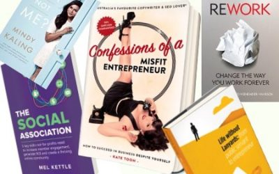 5 businessy books you'll actually finish